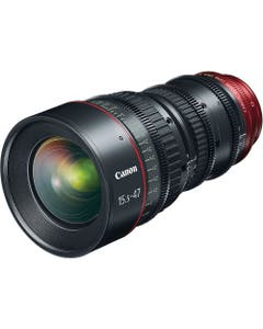 Canon CN-E 15.5-47mm T2.8 L SP Wide-Angle Cinema Zoom Lens with PL Mount