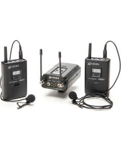 Azden 330LT 2-Person Camera-Mount Wireless Omni Lavalier Microphone System (566.125 to 589.875 MHz)
