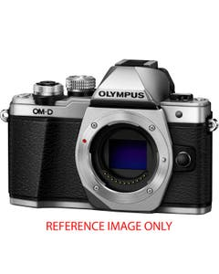 Olympus OM-D E-M10 Mark II Mirrorless Micro Four Thirds Digital Camera (Body Only, Silver) (Pre-Owned)