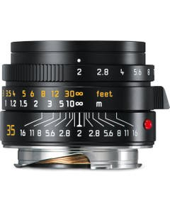 Leica Summicron-M 35mm f/2 ASPH. Lens (Black)