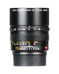 Leica APO-Summicron-M 75mm f/2 ASPH. Lens (Black)