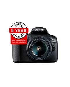 Canon EOS 1500D DSLR Camera with EF-S 18-55mm II Lens Kit