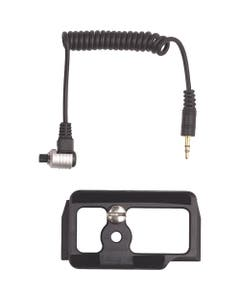 AquaTech Cable Release and Camera Plate Kit for Nikon D850 In BASE Housing