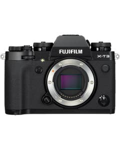 FUJIFILM X-T3 Mirrorless Compact Pro Camera (Body Only, Black)