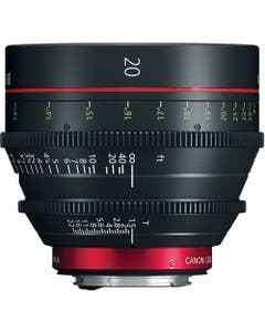Canon CN-E 20mm T1.5 L F Cinema Prime Lens (EF Mount)