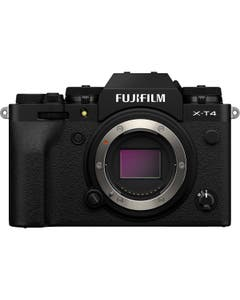 FUJIFILM X-T4 Mirrorless Digital Camera (Body Only, Black)