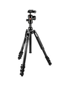 Manfrotto Befree Advanced Travel Aluminum Tripod with 494 Ball Head - Lever Locks, Black