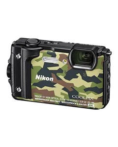 Nikon COOLPIX W300 Digital Camera (Camouflage) with Silicone Jacket