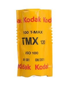 Kodak Professional T-Max 100 Black & White Negative Film (120 Roll Film)