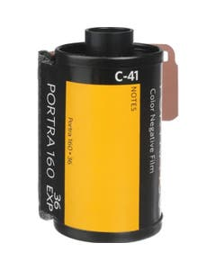 Kodak Professional Portra 160 Colour Negative Film (35mm Roll Film, 36 Exposures)