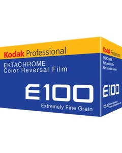 Kodak Professional Ektachrome E100 Colour Transparency Film (35mm Roll Film, 36 Exposures)