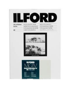Ilford Multigrade IV RC DeLuxe Paper (44M Pearl, 5 x 7in, 25 Sheets)