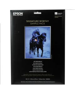 Epson A4 Signature Worthy Paper Sample Pack