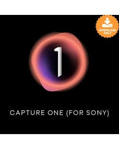 Capture One Pro 21 for Sony with licence card