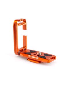 3 Legged Thing Ellie-C Universal L-Bracket with Peak Design Capture-Compatible Base (Copper Orange)