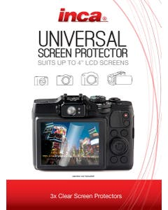 Inca Universal Screen Protector 4-Inches (3 Pack)