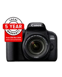 Canon EOS 800D Digital SLR Camera with 18-55mm IS STM Lens Kit