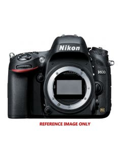 Nikon D600 Digital SLR with Charger and Manual