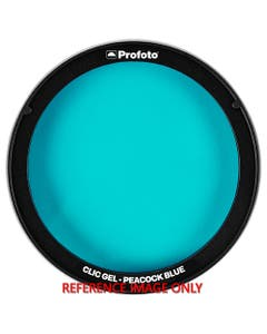 Profoto Clic Gel (Peacock Blue) (Ex-Demo)