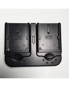 Watson Edge Light Dual NP-F Charger for Sony P-F550, 570 & 970 Lithium Batteries