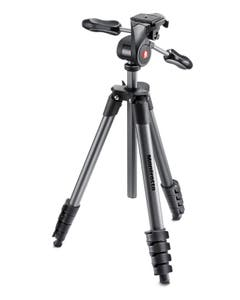 Manfrotto Compact Advanced 3-Way Head with Bag (Black)