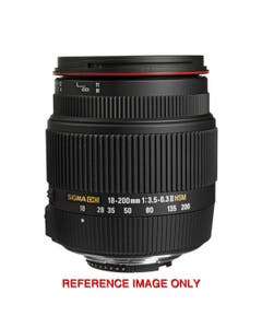 Sigma 18-200mm f/3.5-6.3 II DC OS HSM Lens for Nikon with Box & Accessories 13670192 (Pre-Owned)