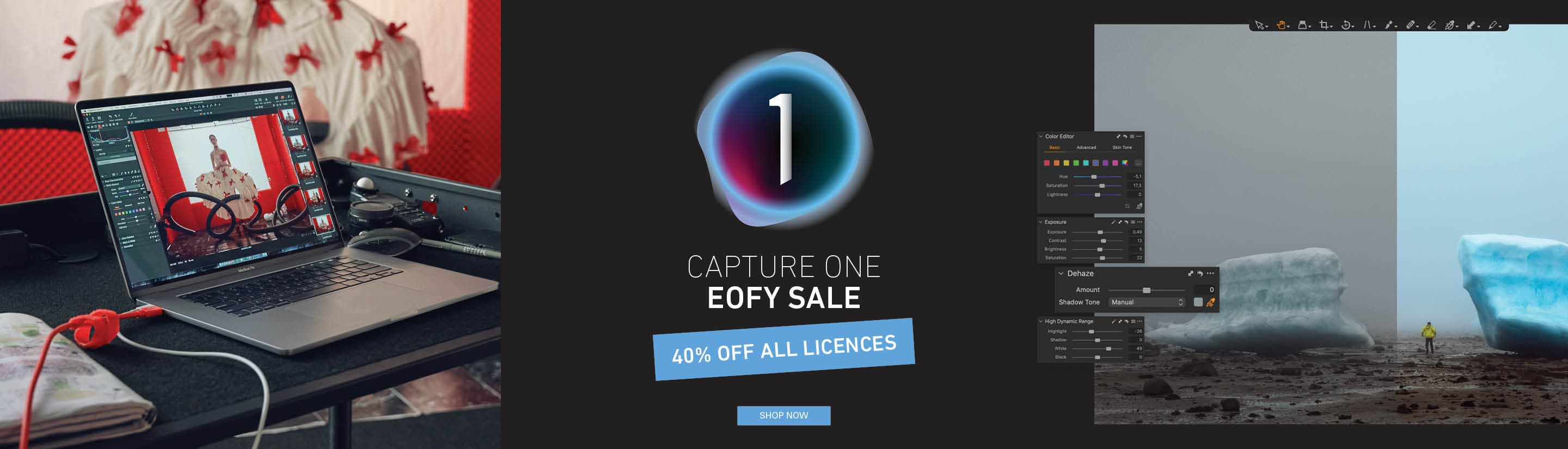 Capture One 40% Off EOFYs