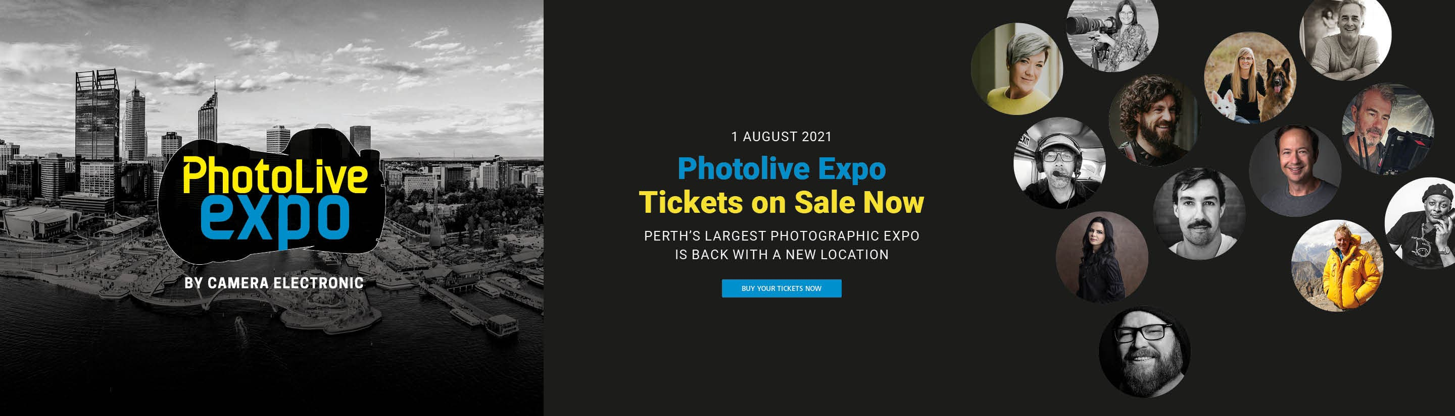 PhotoLive Expo 2021 Ticket Sales